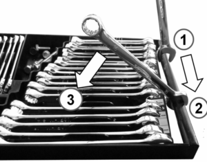 How to use the Tool Sorter Wrench Organizer