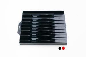 Closeup of Tool Sorter Pliers Organizer - Black