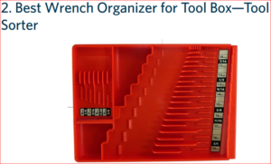 Tool Sorter - Best Wrench Organizer Picture
